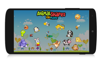 Animal Shape Kids Puzzle