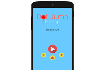 Dot Jump Dash Up