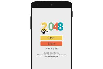 Swipe 2048