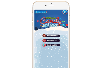 Christmas Candy Burst ios