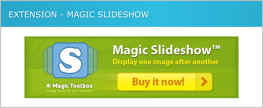 Magic slide show